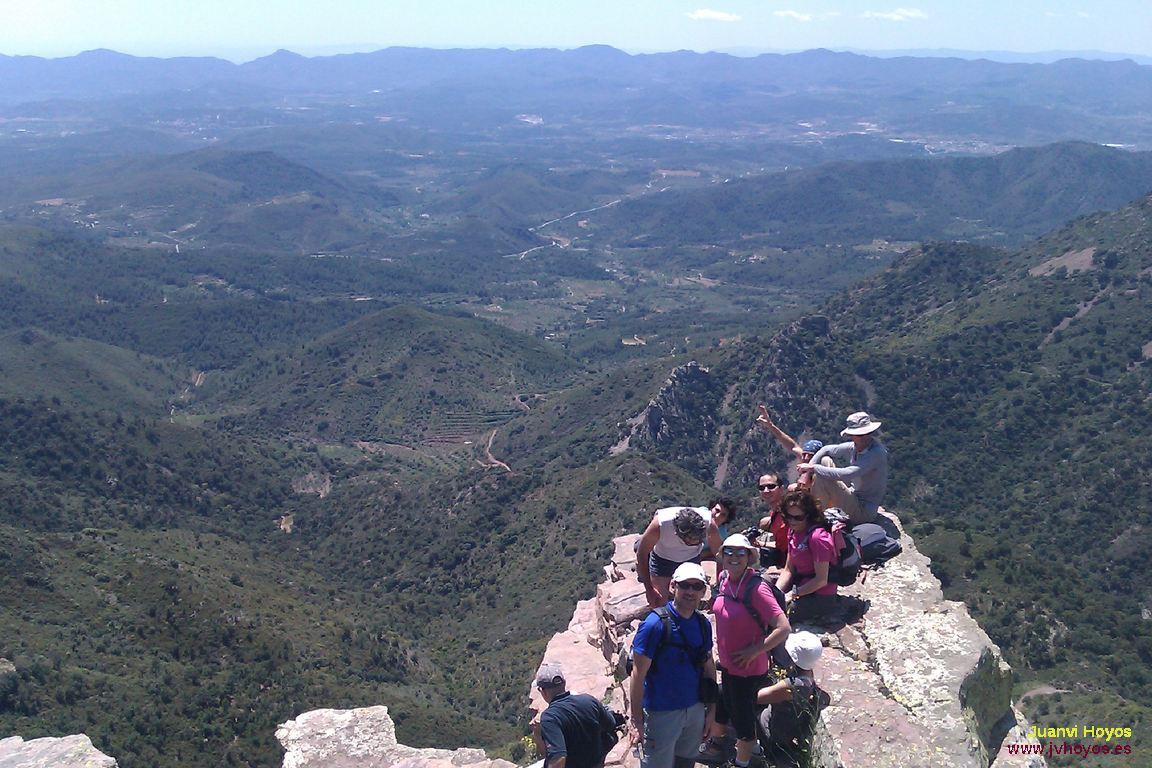 Sierra de Espadán, Aín y picos Aljub y Bellota, 8 de mayo de 2011